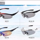 Очки солнцезащитные ROCKBROS многофункциональные, поляризация, 5 линз