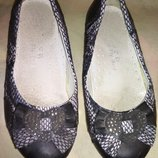 Симпатичные туфельки для девочки