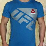 Футболка мужская Reebok UFC синий электрик.