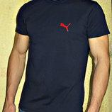 Мужская футболка Puma двухсторонняя синяя.