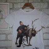 H&M футболочка 4-6 110-116 см