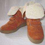 Легкии и теплые ботинки Котофей 32р