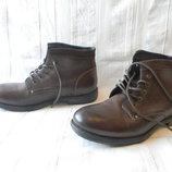 508652591 Продано: Ботинки 46 р Bata Чехия кожа оригинал демисезон ...