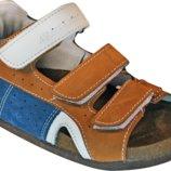 Детские сандалии на пробковой подошве