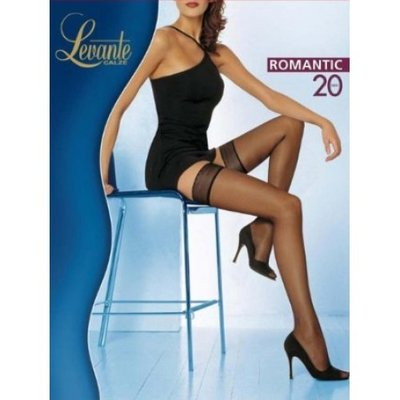 a0046a4b8eec Распродажа Нежные итальянские чулки Levante Romantic 20