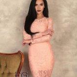 Гипюровое женское платье Люсия