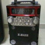 Музыкальная колонка радио с блютус Golon RX-BT-08-Q