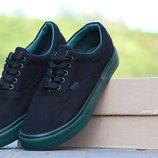 Мокасины мужские Vigo black/green