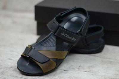 Мужские кожаные сандалии М-4