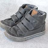 Высокие ботинки на трех липучках Next р.10