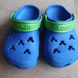 Кроксы детские 6-7 р стелька 14 см Crocs Крокс оригинал фирменные