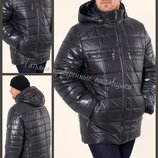 48-58. Мужская зимняя куртка, с капюшоном, Мужская куртка. Чоловіча зимова куртка.