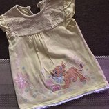 9-12 мес трикотаж хлопок платье Disney король лев