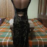 оригинальное платье в пол на торжество