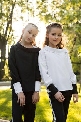 Эффектная блуза 134-164р.