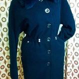 Женское зимнее пальто Шерсть оверсайз свободный крой Samang S