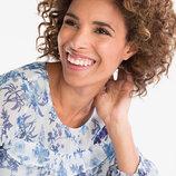 Новая блуза Yessica, шифон, цветочный принт, от сайта C&A