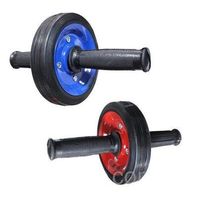 Ролик гимнастический для пресса металлический одно колесо колесо для пресса