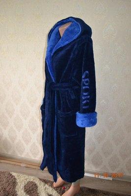 667fe1a8b98 Мужской махровый теплый халат размер 58-60