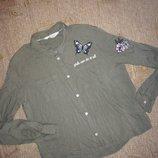 Модная укороченная рубашкаH&M