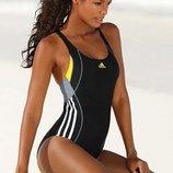 8 с 36 Adidas стильный спортивный цельный купальник