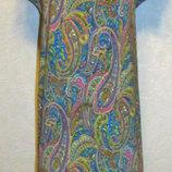 Шикарное платье Индийский огурчик для барышни со вкусом