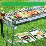 Складной мангал для барбекю и гриля BBQ Combined barbecue