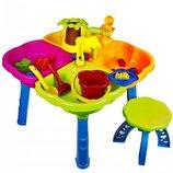 Стол для игры с песком и водой / Столик песочница 01-121