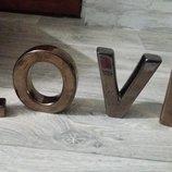 Буквы Love для фото атрибутика
