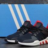 Adidas Equipment ADV/91-17 кроссовки мужские демисезонные тёмно синие с белым 5260