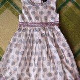 Легкое летнее платье Marks & Spencer Маркс и Спенсер на 4-5 лет