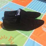 Замшевые туфли Dino Ricci 46р 31см