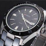 Классические мужские часы Curren Waterproof, Гарантия. Класичний годинник