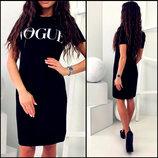 платье туника в стиле Vogue код 149