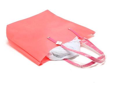 10fcc2286c6f Силиконовая пляжная сумка. Коралловый: 675 грн - пляжные сумки в ...