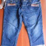 новые джинсовые шорты капри 29 размер