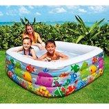 Надувной бассейн Intex 57471 Голубая лагуна