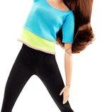 Barbie Барби йога серия Двигайся как я Тереза Шатенка Made to Move Barbie Doll Blue Top