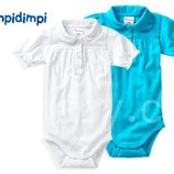 Бодики детские Impidimpi на девочку 2-6 мес ,рост 62-68 набор из 2 шт