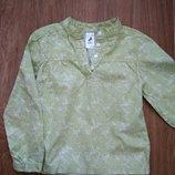 Рубашка польского производителя для девочки Весенне-Летняя