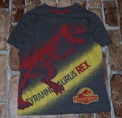 футболка Динозавр 3-4года Джорж большой выбор одежды 1-16лет