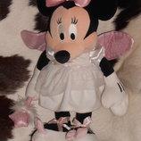 роскошная мягкая игрушка Минни Маус фееечка Minnie Mouse Disney Англия оригинал 45 см