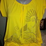 Оригинальная, новая, яркая футболка бренда Оlко, размер 50-52