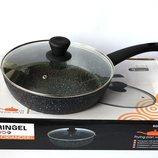 Сковорода-Сотейник глубокая с крышкой RINGEL Koriander d 28 см.