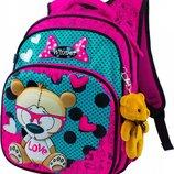 Ранец школьный рюкзак детский для девочек фабричный ортопед Winner Stile 8015 Портфель