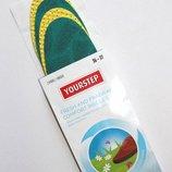Комплект 2 пары. Свежие комфортные арома стельки для весенней и летней обуви. 36-37, 42-43
