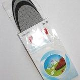 Комплект 2 пары. стельки для защиты от запаха для весенней и летней обуви. 36-37, 42-43.