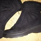 39р-24.5 зима на шерсти ботинки зима Rohde