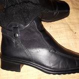 5р-25 см кожа зима ботинки Gabor Tex