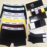 3 шт. комплект Мужские трусы боксеры транки Calvin Klein, Armani, Tommy Hilfiger
